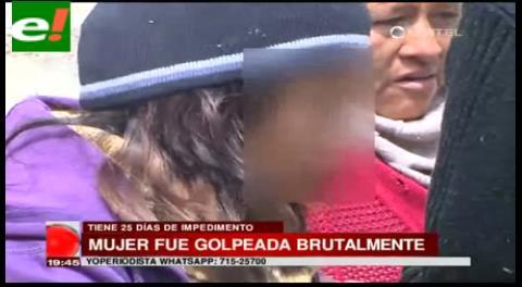Mujer agredida brutalmente fue encerrada para no denunciar