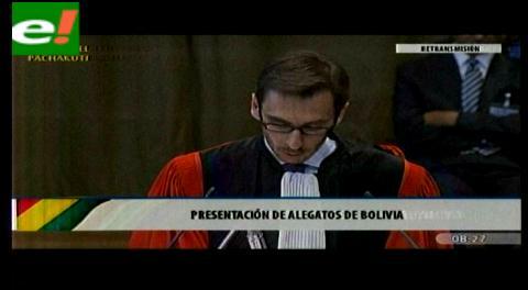 Forteau: El Pacto de Bogotá concede a La Haya competencia en todo lo relacionado con el derecho internacional