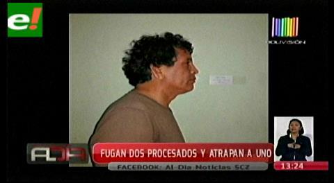La policía de Yapacaní recapturó a uno de los prófugos de carceleta