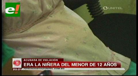 Niñera se embaraza de niño de 12 años