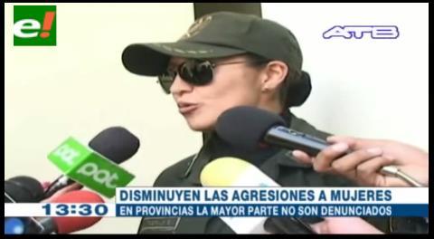 Disminuyen casos de violencia a la mujer en Potosí