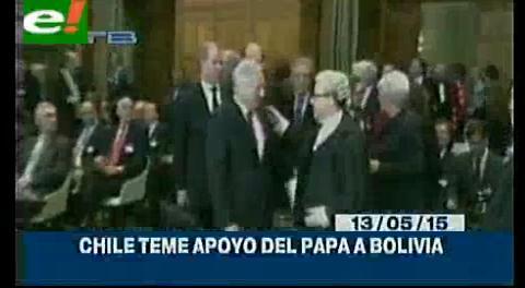 Titulares de TV: Chile teme mediación del Papa Francisco en favor de los intereses de nuestro país