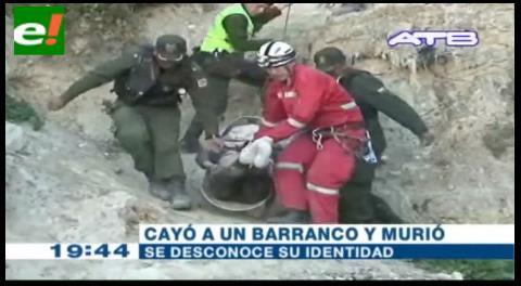 Encuentran cadáver de una joven en un barranco