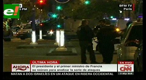 Terror junto al Stade de France: 60 muertos y Hollande evacuado