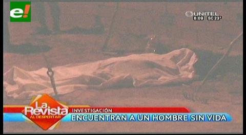 Encuentran un hombre sin vida en plena vía pública