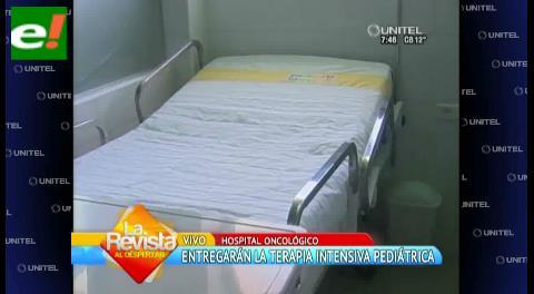 Inauguran terapia intensiva pediátrica en el Oncológico