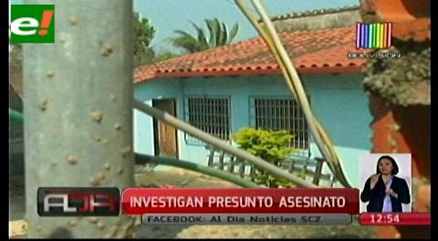 Investigan presunto asesinato de anciano