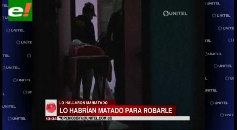 Se espera la autopsia de anciano asesinado en el Plan Tres Mil