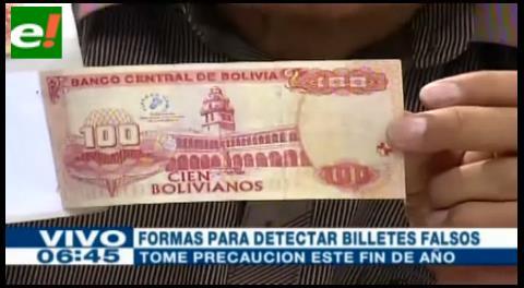 Conozca cómo detectar billetes falsos para evitar contratiempos en fin de año