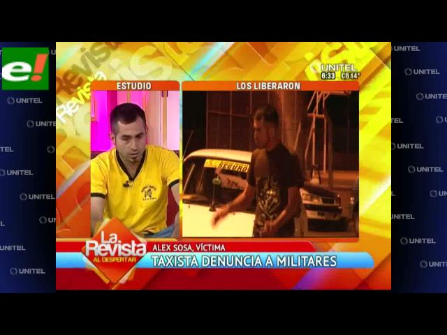 Taxista denuncia a militares de agresión, discriminación y racismo