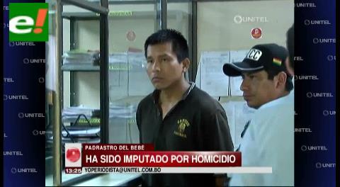 Padrastro imputado por homicidio va a Palmasola
