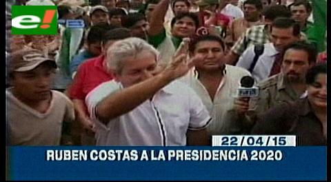 Titulares de TV: El MAS resta importancia a posible candidatura presidencial de Costas
