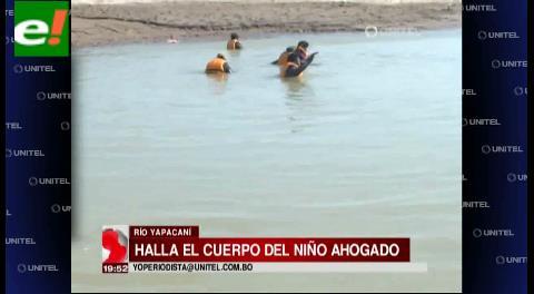 Encuentran al niño ahogado en Yapacaní