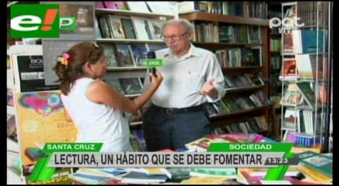 """En el """"Día Internacional del Libro"""" poco hábito de lectura en el común de la gente"""
