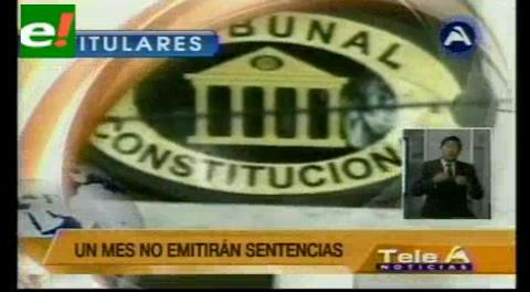 Titulares de TV: Ex secretario de la OEA es el nuevo agente de Chile ante la Corte Internacional de La Haya