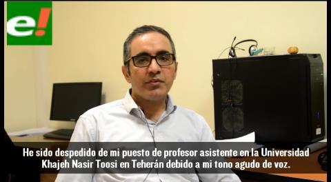 Irán expulsa a un profesor universitario por su voz de mujer