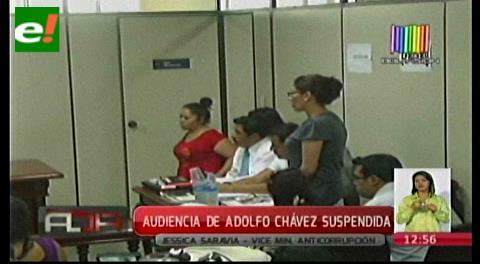 Se suspende la audiencia cautelar del dirigente indígena Adolfo Chávez