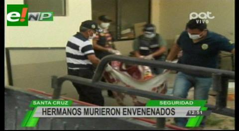 Autopsia confirma que hermanos murieron envenenados