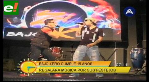 """""""Bajo Xero"""" cumple 15 años de trayectoria musical"""