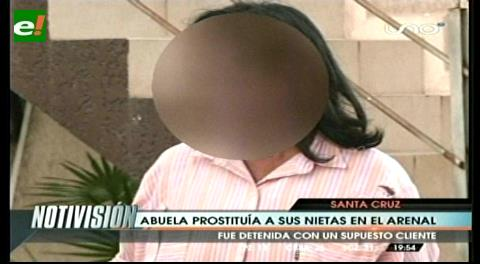 Santa Cruz. Detienen a abuela acusada de prostituir a sus nietas