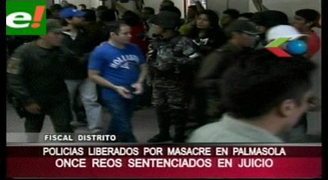Santa Cruz. 30 años para 5 reos por la matanza en cárcel de Palmasola