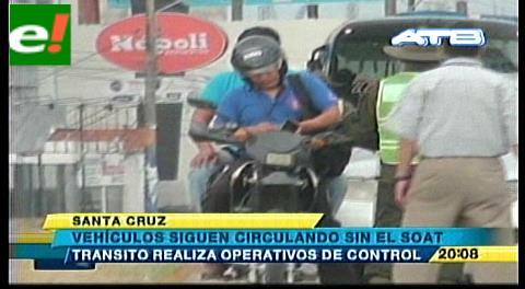 Vehículos siguen circulando sin el Soat