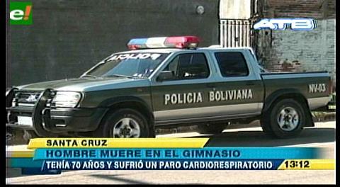 Hombre muere en el gimnasio mientras hacía ejercicios