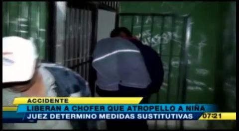 Cochabamba. Liberaron a chofer ebrio que atropelló a una niña de 5 años