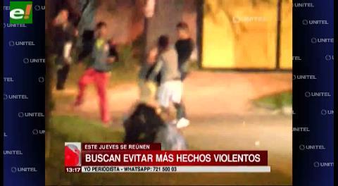 Autoridades se reunirán con la policía para evitar hechos violentos