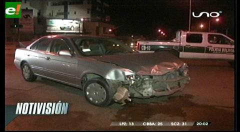 Ordenan libertad irrestricta para conductor que colisionó en Av. Virgen de Cotoca