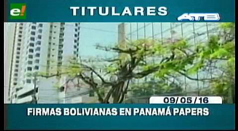 Titulares de TV: Empresarios privados piden al Gobierno investigar empresas estatales involucradas en los Panamá Papers
