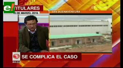 Titulares de TV: La empresa china Camc no opera con un solo nombre en Bolivia