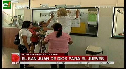 Hospital San Juan de Dios para el jueves
