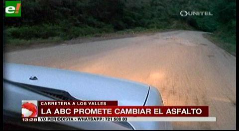ABC promete arreglar camino hacia Los Valles