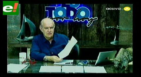 Valverde: Zapata influía en la Aduana, Comibol y Banco Unión