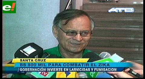 800 mil bolivianos para combatir el virus zika
