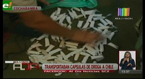 Cochabamba. Desbaratan organización de tráfico de drogas a Chile