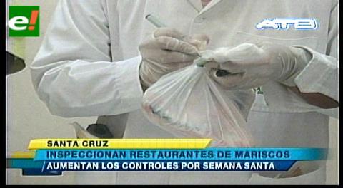 Inspeccionan restaurantes de mariscos
