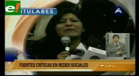 """Titulares de TV: Ministro de Autonomía llama """"Magdalena con lágrimas de cocodrilo"""" a alcaldesa Chapetón"""