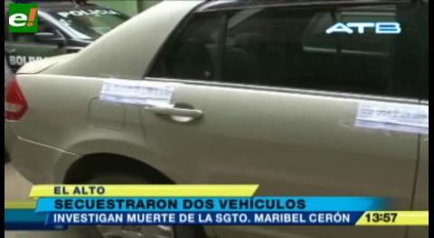 Realizan pericias a dos vehículos por el caso de la muerte de la sargento Maribel Cerón