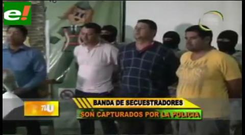 Cae peligrosa banda de secuestradores en Cobija
