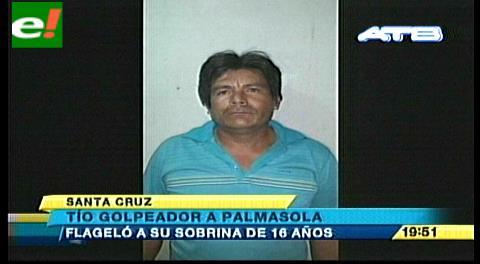 Policía detiene a hombre que flageló a su sobrina