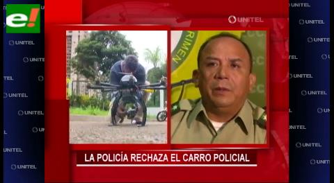 Polémica por vehículo y dron entregado por la Alcaldía a la Policía