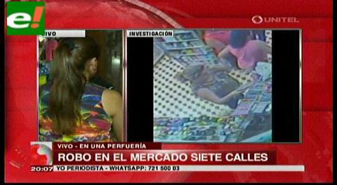 Mujer se hizo pasar por cliente y robó un perfume de 80 dólares