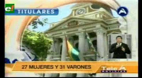 Titulares de TV: Concluye etapa de impugnaciones a postulantes a la Defensoría del Pueblo