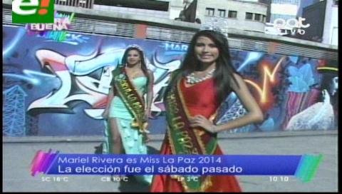 Mariel Rivera es Miss La Paz 2014