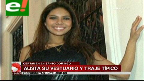 Ericka Melgar se llamará Bolivia en concurso internacional