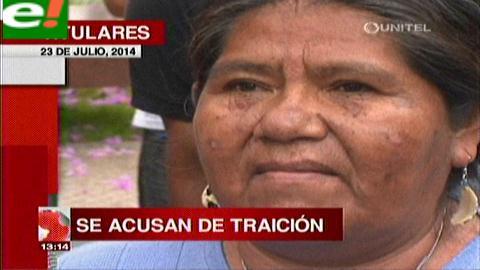 Titulares: Indígenas critican a Justa Cabrera por acercamiento al MAS