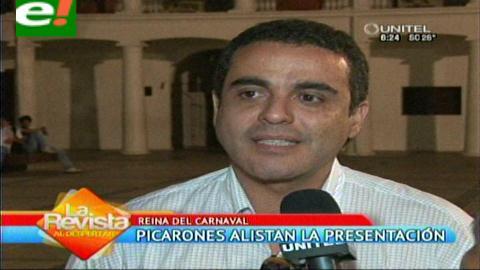 Picarones alistan presentación oficial de la Reina del Carnaval 2015