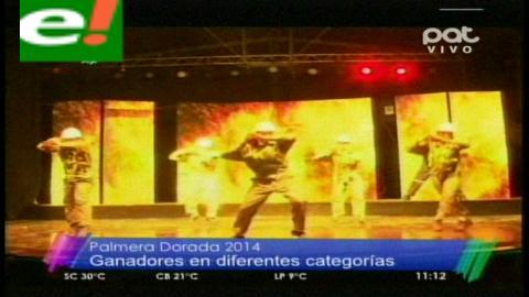 """Ganadores de """"La Palmera Dorada Expocruz 2014"""""""